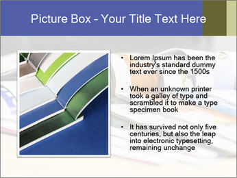 Magazine spread in the office PowerPoint Template - Slide 13