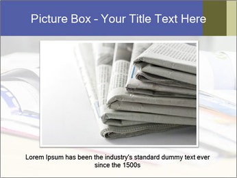 Magazine spread in the office PowerPoint Template - Slide 16