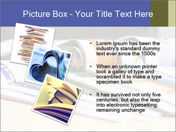 Magazine spread in the office PowerPoint Templates - Slide 17