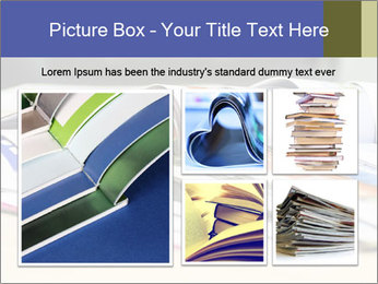 Magazine spread in the office PowerPoint Template - Slide 19