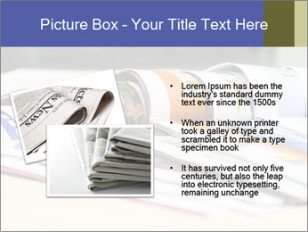Magazine spread in the office PowerPoint Template - Slide 20