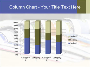Magazine spread in the office PowerPoint Template - Slide 50