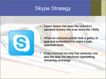 Magazine spread in the office PowerPoint Template - Slide 8
