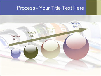 Magazine spread in the office PowerPoint Template - Slide 87