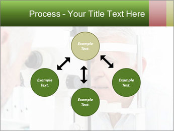 Close-up of an optometrist PowerPoint Template - Slide 91