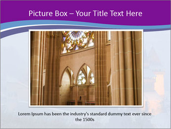 Fortified medieval church in Transylvania PowerPoint Template - Slide 15