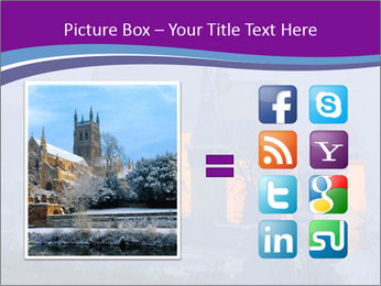 Fortified medieval church in Transylvania PowerPoint Template - Slide 21