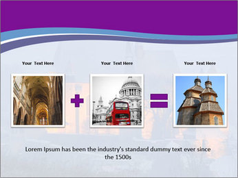 Fortified medieval church in Transylvania PowerPoint Template - Slide 22
