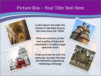 Fortified medieval church in Transylvania PowerPoint Template - Slide 24