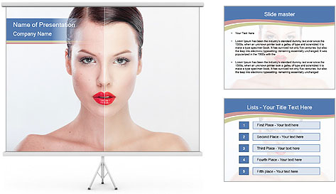 Beauty treatment PowerPoint Template