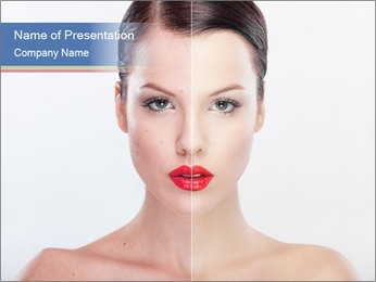 Beauty treatment PowerPoint Template - Slide 1