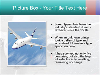 Passenger aircraft PowerPoint Template - Slide 13