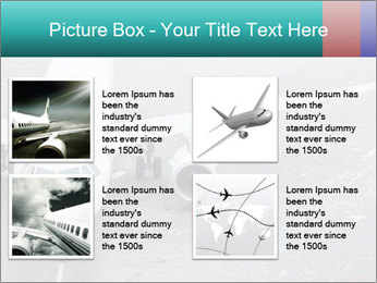 Passenger aircraft PowerPoint Template - Slide 14