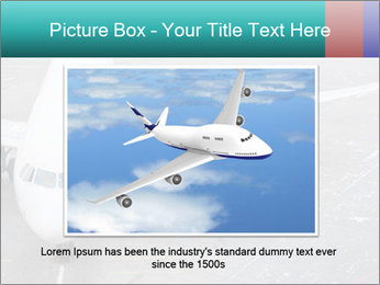 Passenger aircraft PowerPoint Template - Slide 15