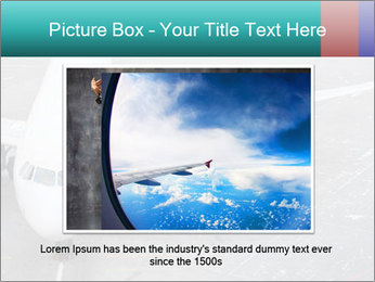 Passenger aircraft PowerPoint Template - Slide 16