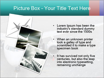 Passenger aircraft PowerPoint Template - Slide 17