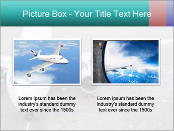 Passenger aircraft PowerPoint Template - Slide 18