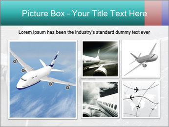 Passenger aircraft PowerPoint Template - Slide 19