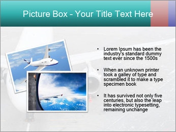 Passenger aircraft PowerPoint Template - Slide 20