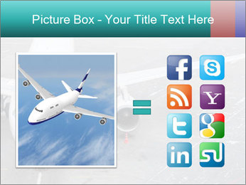 Passenger aircraft PowerPoint Template - Slide 21