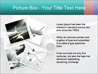 Passenger aircraft PowerPoint Template - Slide 23