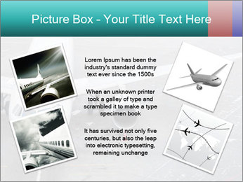 Passenger aircraft PowerPoint Template - Slide 24