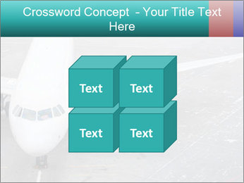 Passenger aircraft PowerPoint Template - Slide 39