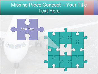 Passenger aircraft PowerPoint Template - Slide 45