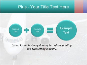 Passenger aircraft PowerPoint Template - Slide 75