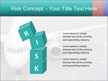Passenger aircraft PowerPoint Template - Slide 81