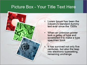 Cancer cell in a crosshair PowerPoint Template - Slide 17