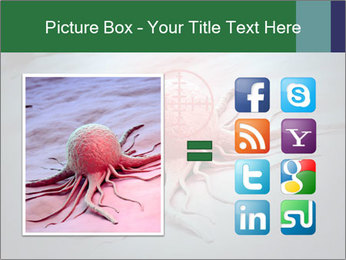 Cancer cell in a crosshair PowerPoint Template - Slide 21