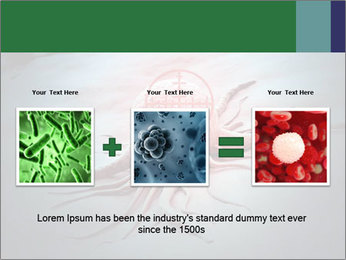 Cancer cell in a crosshair PowerPoint Template - Slide 22