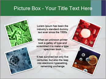 Cancer cell in a crosshair PowerPoint Template - Slide 24