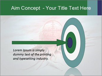 Cancer cell in a crosshair PowerPoint Template - Slide 83