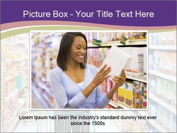 Man in supermarket PowerPoint Template - Slide 15