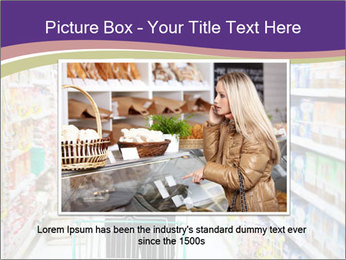 Man in supermarket PowerPoint Template - Slide 16