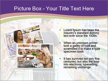 Man in supermarket PowerPoint Templates - Slide 20
