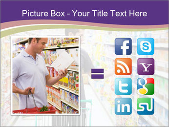 Man in supermarket PowerPoint Templates - Slide 21