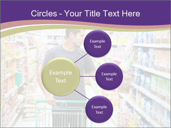 Man in supermarket PowerPoint Templates - Slide 79
