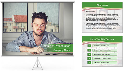 Monday morning PowerPoint Template