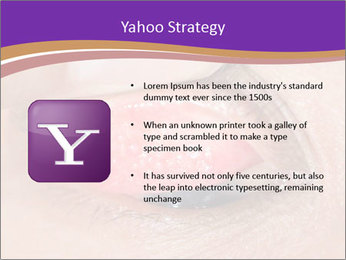 Close up of the follicular injection PowerPoint Templates - Slide 11