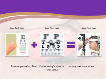 Close up of the follicular injection PowerPoint Template - Slide 22
