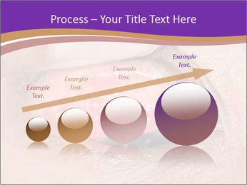 Close up of the follicular injection PowerPoint Templates - Slide 87