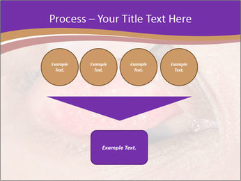 Close up of the follicular injection PowerPoint Templates - Slide 93