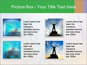 People soaring PowerPoint Template - Slide 14