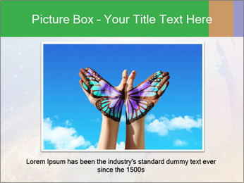 People soaring PowerPoint Template - Slide 15