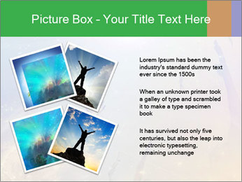 People soaring PowerPoint Template - Slide 23