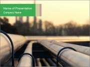 Steel pipes PowerPoint Templates