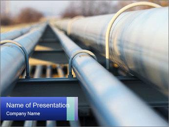 Detail of steel PowerPoint Template - Slide 1